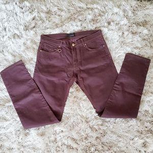 Zara Man Black Tag Slim Skinny Jeans 34